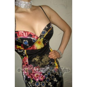 eac45b1347 http   shop.stylesecretsboutique.com img p 240-. Previous. RUNWAY SILK  ROBERTO CAVALLI CORSET BUSTIER FLORAL BAROQUE PENCIL DRESS  RUNWAY SILK ...